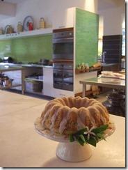 Lemon poppy seed cake for breakfast... very delicious.... :)