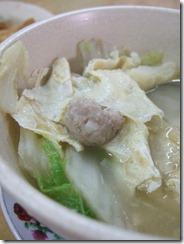 Nancy's Kitchen Meatball Fishball Soup